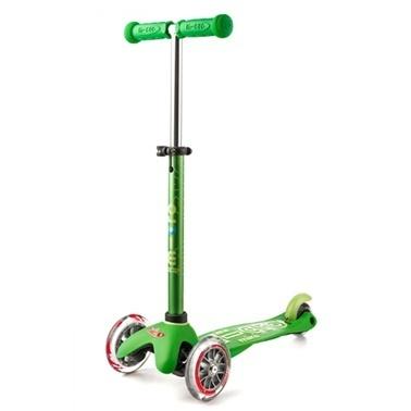 Micro Mini Micro Scooter Deluxe Yeşil Yeşil